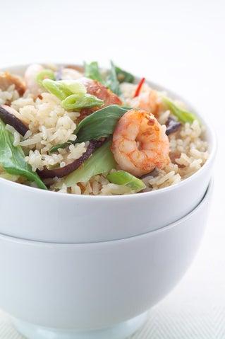 Prawn stir fried rice