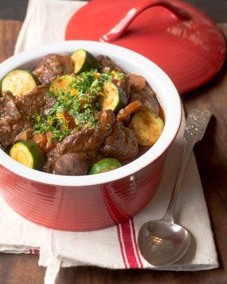 Cheat's Italian-inspired lamb stew