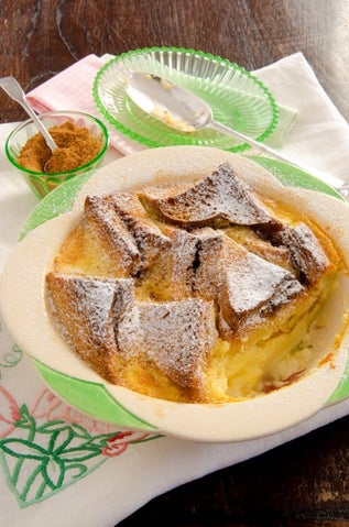 Balinese-inspired Bread and Butter Pudding