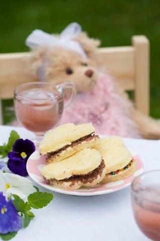 Creamy brioche sam-sams