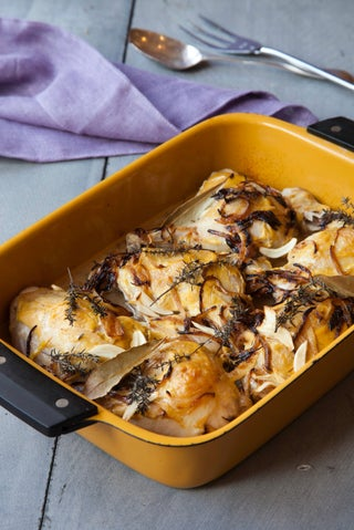 Dijon chicken bake