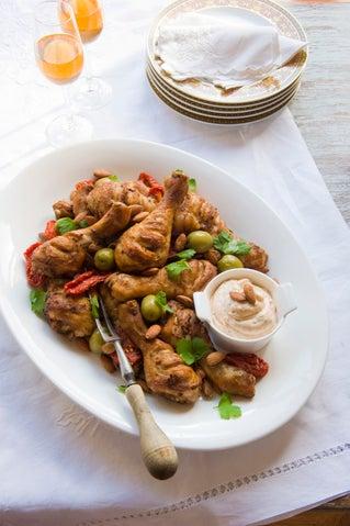 Moroccan chicken drumsticks