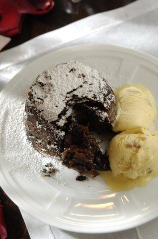 Girlfriend's Melt 'n' Mix Chocolate Chunk Mud Cake