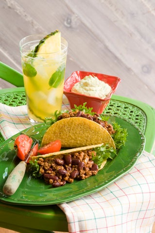 Mexican beef 'n' beans