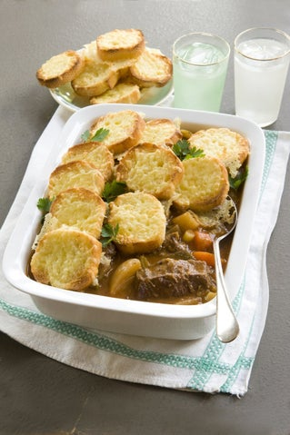 Tomato and beef casserole