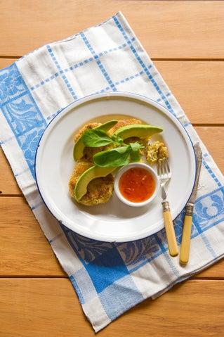 Thai-inspired fish cakes