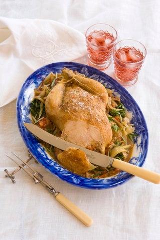 Chicken Marengo with a twist