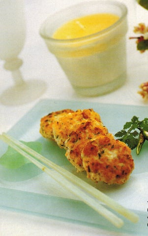 Thai Fish Cakes With Cucumber Dipping Sauce