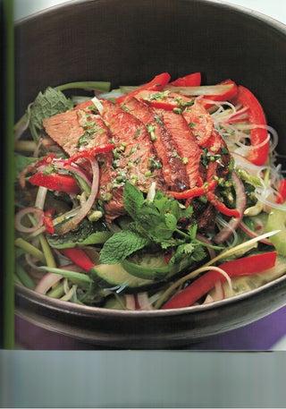 Penang beef salad