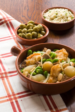 Pork with pears and sherry