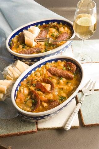 Spanish tapa beans