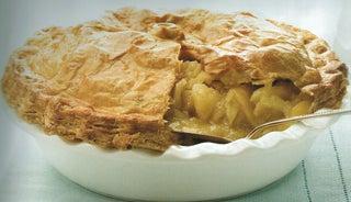 Classic double-crust apple pie