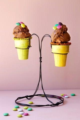 Chocolate mud ice cream