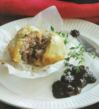 Easy pork picnic pies