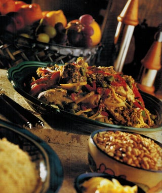Chicken And Broad Bean Tagine