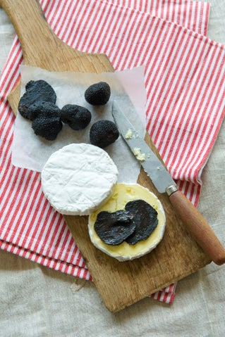 Truffle-infused Brie