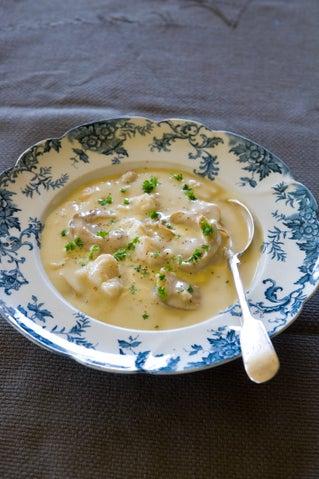 Blue cod and Bluff oyster chowder
