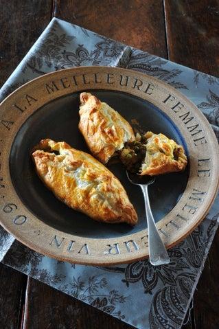 Lentil and pumpkin pasties