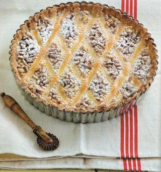 Pinenut custard tart