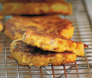 Spicy pumpkin fritters