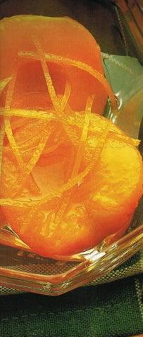 Poached whole apricots