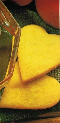 Orange coconut biscuits