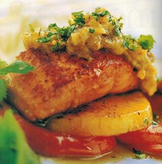 Sweet Madras Salmon