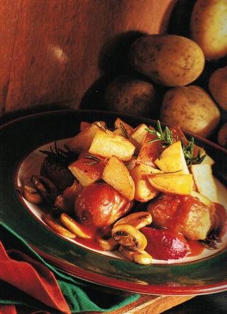 Potato and sausage hash