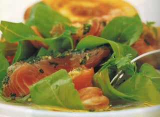 Cured Salmon With Herbs