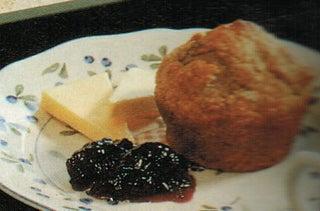Oaty banana and apricot muffins