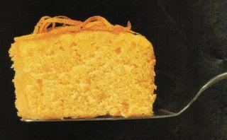Citrus syrup cake