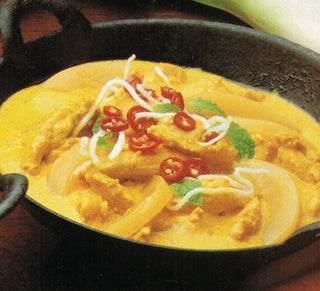Fragrant coconut chicken curry