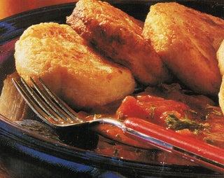 Potato gnocchi with quick savoury sauce