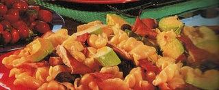 Artichoke and pasta salad