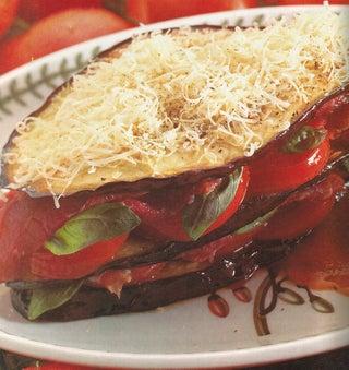 Aubergine and tomato terrine