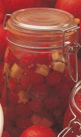 Rosemary marinated cherry tomatoes