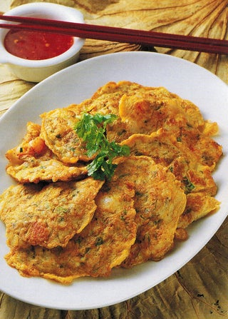 Spicy Prawn Fritters