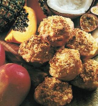 Fruit salad muffins