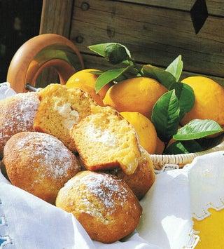 Lemon honey and cream cheese muffins