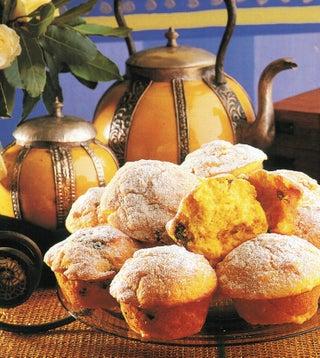 Pumpkin, prune and orange muffins