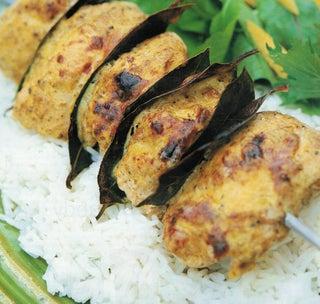 Moghul chicken kebabs