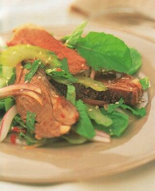 Thai-scented roast lamb