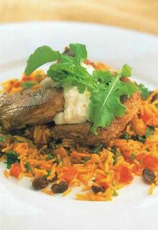 Kashmiri lamb steaks or kebabs