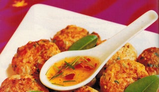 Spicy Salmon And Prawn Fish Cakes