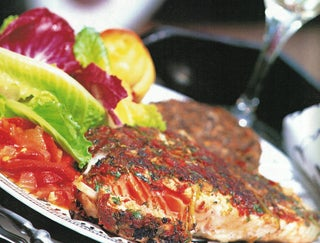 Barbecued Tabasco salmon