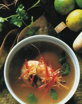 Hot sour prawn soup