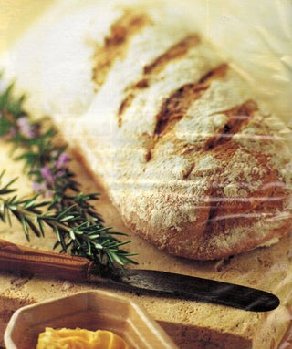 Wholemeal Bread With Fresh Rosemary
