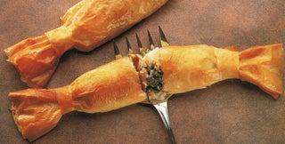 Caper fish bonbons