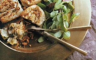 Hipi Iti twists with pistachio nut crumble