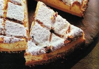 Orange blossom cheesecake